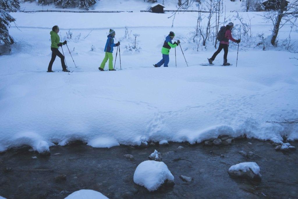 Vreni vom Berg Nationalparklodge Grossglockner Schneeschuhwandern-15