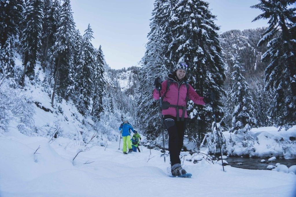 Vreni vom Berg Nationalparklodge Grossglockner Schneeschuhwandern-8