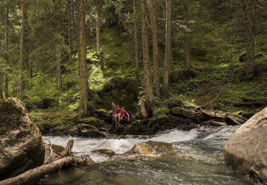 Wilde Wasser - entdecke die schönste Plätze in Heiligenblut